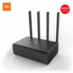 الأصلي شياو mi mi واي فاي راوتر لاسلكي HD/برو 2533Mbps 2.4G/5GHz ثنائي النطاق Roteador واي فاي مكرر HD 1 تيرا بايت 2 تيرا بايت 8 تيرا بايت الإنجليزية APP