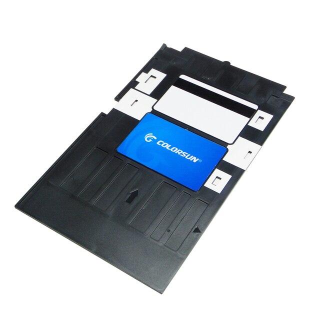 Jet Dencre PVC Carte DIDENTIT Plateau En Plastique De Visite Impression