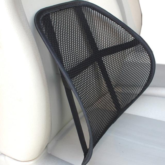 Mesh Lumbar Support For Car Seat Cushion Cojin Back Office Chair