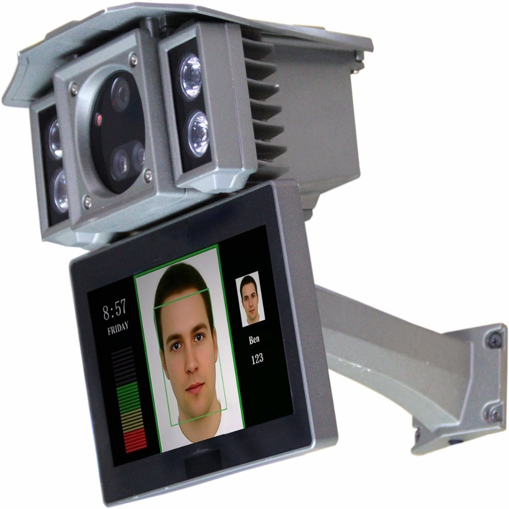 Surveillance cameras with facial recognition technology