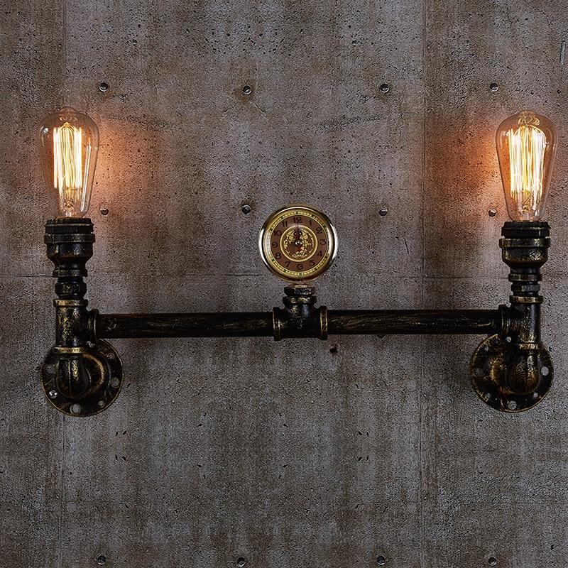 Pipe Lamp Industrial Lamp Urban Pipe Lamp By: Aged Steel Pipe Lighting Industrial Water Pipe Lamps Black