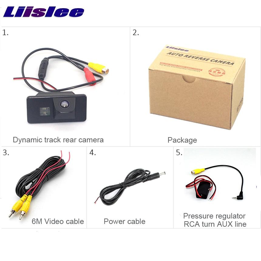 Liislee pour BMW 3 E46 1998 1999 2000 2001 2002 2003 caméra de stationnement de vue arrière CCD HD caméra de Vision nocturne étanche