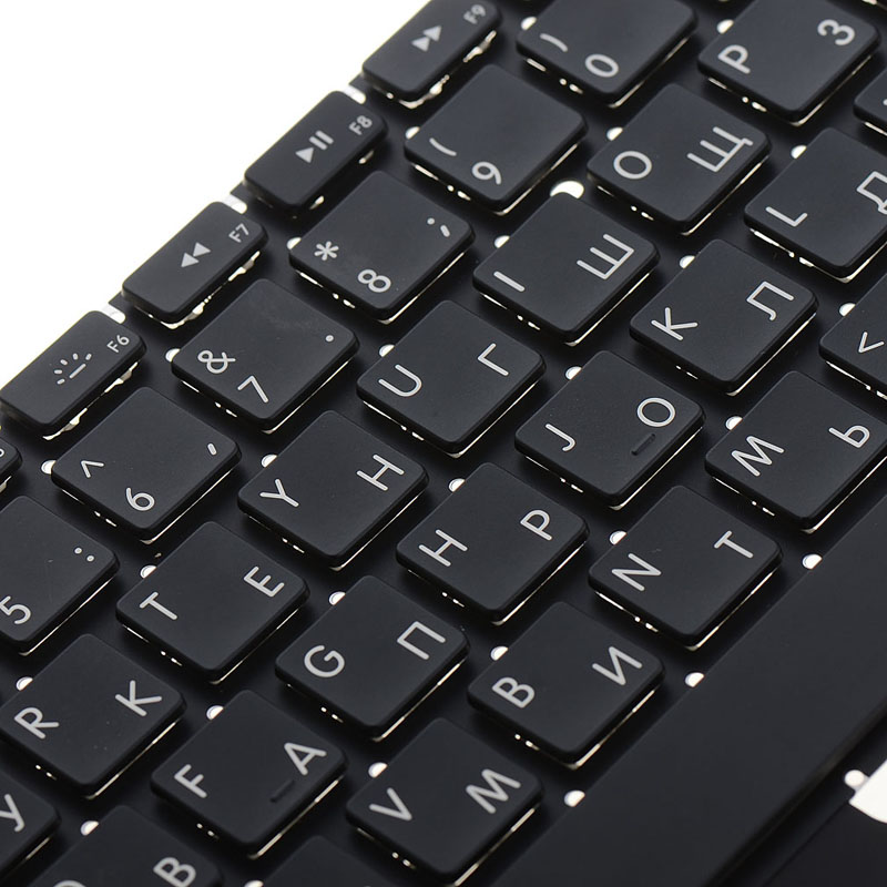 English Russian Standard Laptop Keyboard Replacements Fit For A1369 A1466 Notebook Computer Keyboards Usb Desktop
