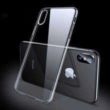 Luxury Case For iPhone X XS 8 7 6 s Plus Capinhas Ultra Thin Slim Soft TPU Silicone Cover Case For iPhone XR 8 R7
