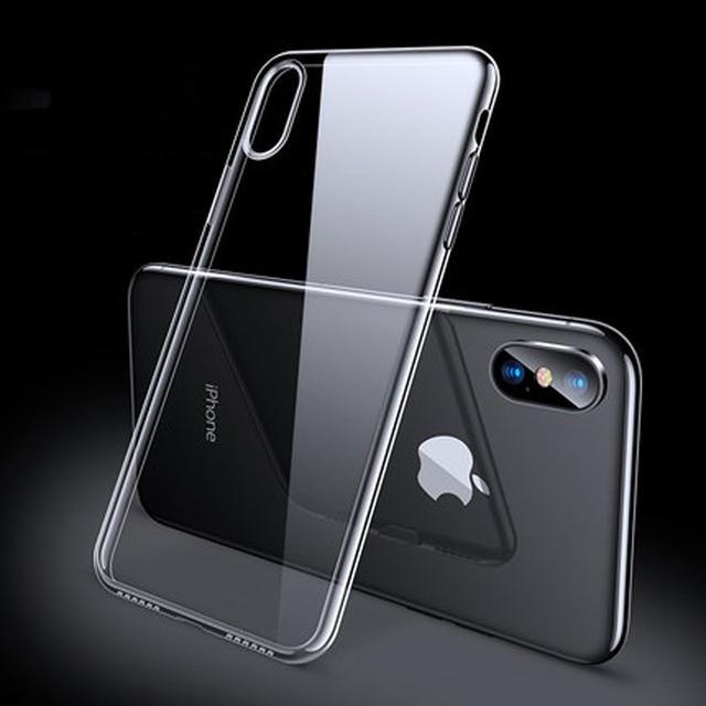 Luxury Case For iPhone X XS 8 7 6 s Plus Capinhas Ultra Thin Slim