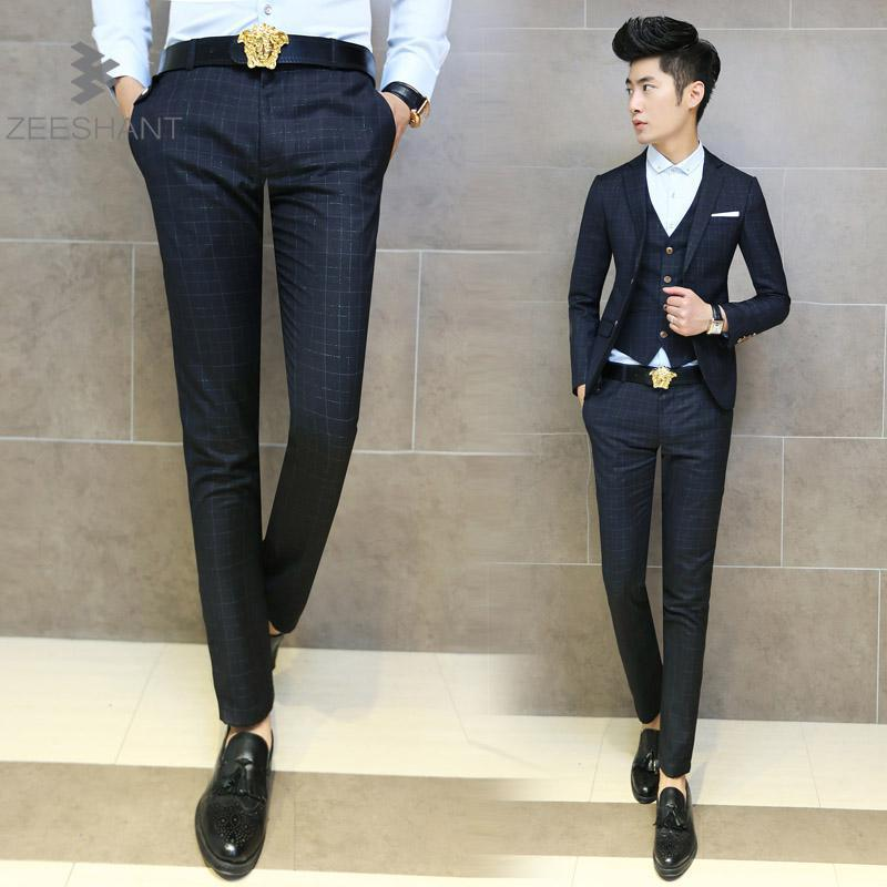 High Quality Fitted Suit Pants Promotion-Shop for High Quality ...