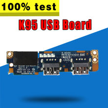 For ASUS K95V K95VB K95VJ K95VM A95V A95VB A95VJ A95VM R900V USB Board IO Board(China)