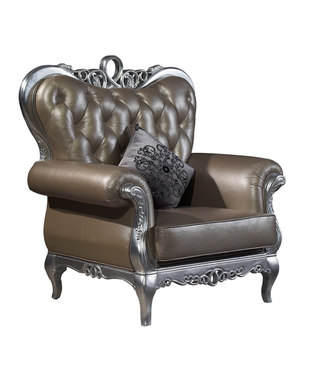 beautiful luxury italian royal style chaise/ lounge chair/recliner ...