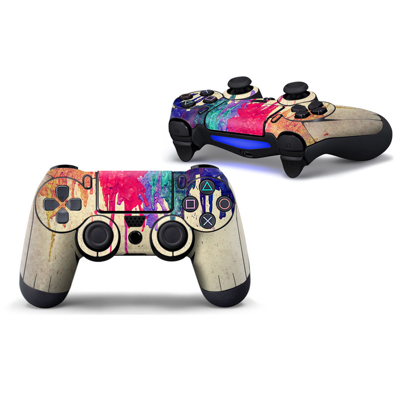 Colorful Style Touch Pad For PS4 Controller Skin Game pad Decal Joystick Joypad Accessories