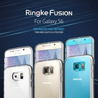 100 Original Ringke Fushion Case For Samsung Galaxy S6 360 Full Protection Clear Back Cover Phone