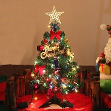 Искусственная Рождественская елка, светодиодный, многоцветные огни, Декорации для праздничного окна, набор разноцветных огней для праздника, arbol de navidad#40