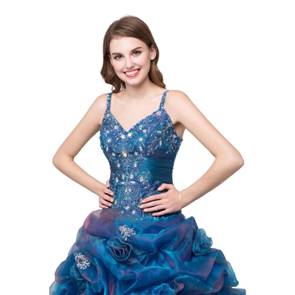 Vestidos De Marmelo ruthshen Anos 2018 Quinceanera Vestidos Ruffles Organza Doce 16/15 Debutante Meninas Vestidos de Baile de Máscaras