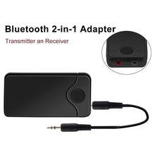 2in1 Bluetooth transmitter receiver Wireless Adapter HIFI Audio With 3.5MM Audio Input And Output For TV Bluetooth Music sender