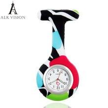 Nurfob силиконовые часы для медсестры подарок доктора узор бабочки