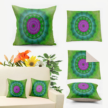 IKathoME Colorful Mandala Boho Tribal Ikat Pillow Cushions Covers,Art Decorative Pillows Case for Couch,Sofa Throw Pillows D750