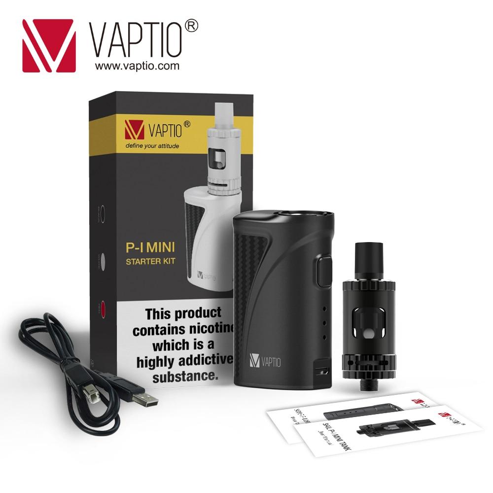 P1 Mini Box Mod 2017 New Vaptio Vape electronic cigarette vaporizer PI MINI mechanical mod vaptio ascension s50 4200mah box mod kit electronic cigarette kit