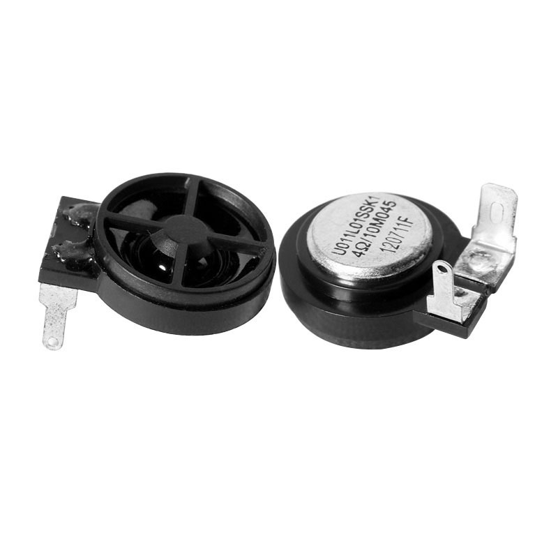 2Pcs 1 Inch Mini Audio Portable Tweeter 4 Ohm 10W HIFI Speaker Car Speaker  Magnetic Tweeter