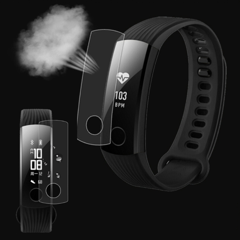 JAVRICK TPU Ultra Thin Screen Protector For Huawei Honor Band 3 Youth Smart Watch