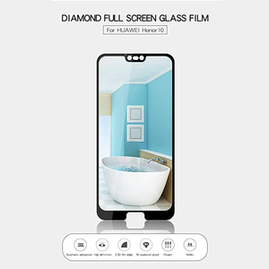 Image 3 - TOPK Screen Protector for Honor 10 Tempered Glass HD Clear Full Coverage  Protective Film for Honor 10 Protector Glass