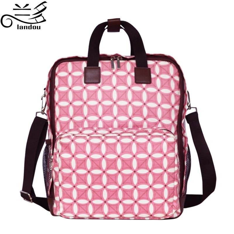 2016 Baby Diaper Bags Bags For Mom Bolsa Maternidade Han Edition Fashionable Mummy Bag Backpack Is Muti_function Large Capacity