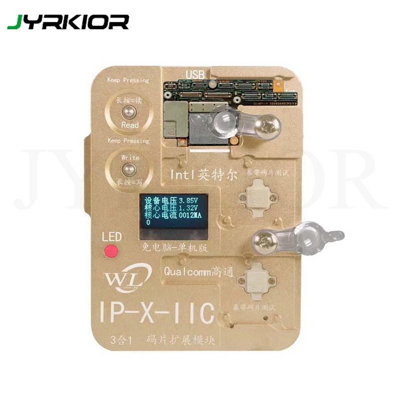Jyrkior WL Programmer Intel Qualcomm Baseband Logic EEPROM IC Module Read Write Tool For iPhone 6