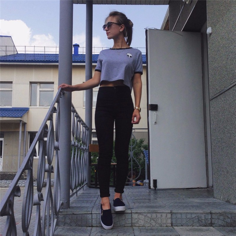 18 New Fashion Jeans Women Pencil Pants High Waist Jeans Sexy Slim Elastic Skinny Pants Trousers Fit Lady Jeans Plus Size 34