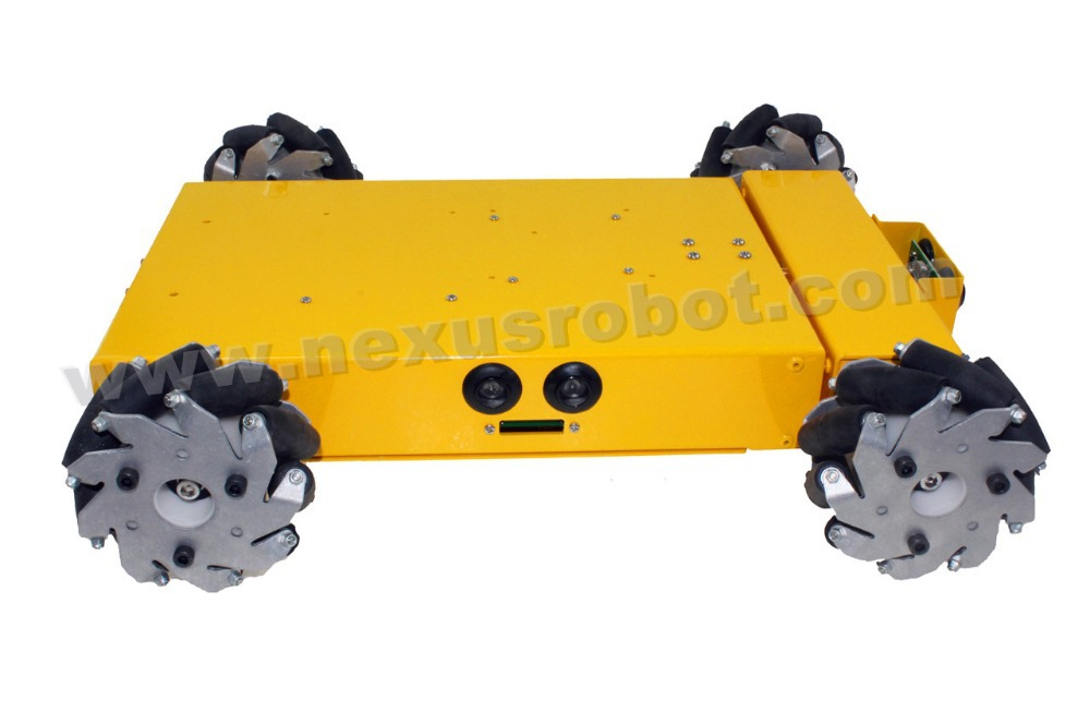 4WD Mecanum təkərli mobil robot dəsti - Məktəb və tədris ləvazimatları - Fotoqrafiya 2