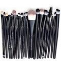 20 pcs Make Up Brush Set Pincéis De Maquiagem Dos Olhos Para Ferramenta de cosméticos Sobrancelha Mascara Lip Pincel de Esponja Com Lápis de Olho escova