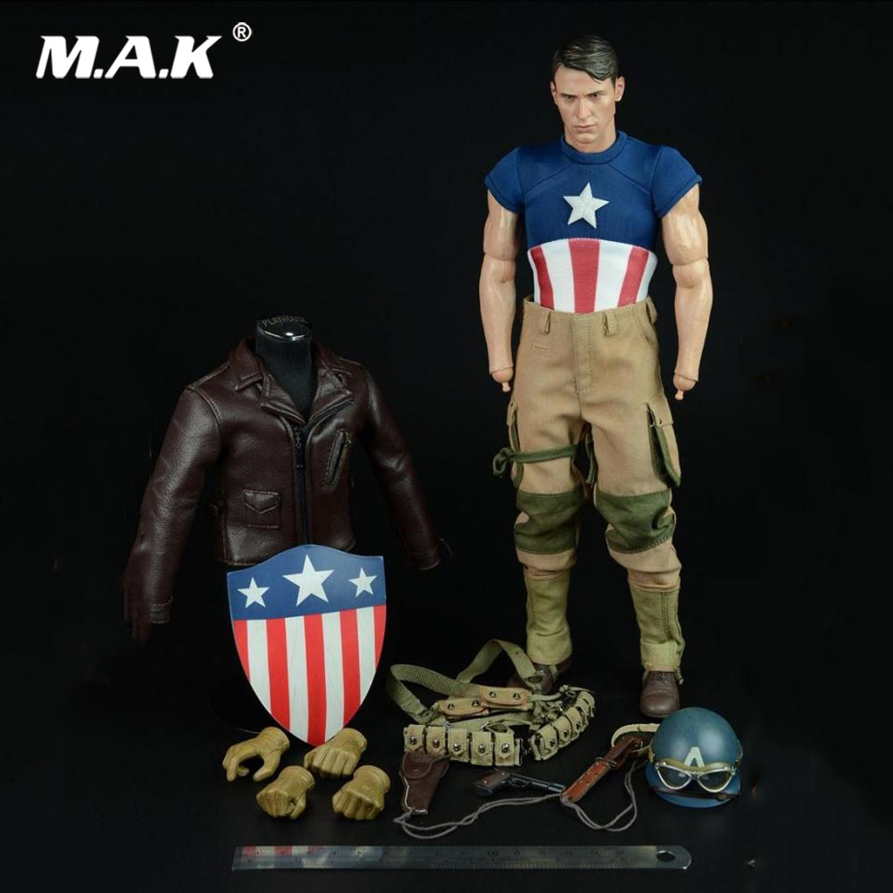 A011 1/6 Scale Male Solider Clothes Set Accessory US World War II Version Set Model for 12 '' Action Figure