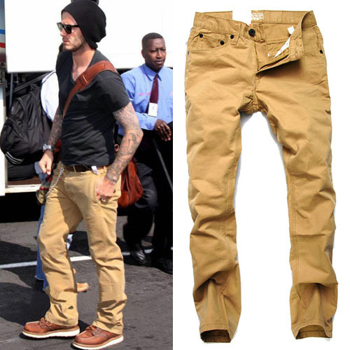 Aliexpress.com : Buy Casual Pants denim pants Men fashion Top ...