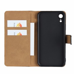 for Apple iphone XS MAX case iphone XR cover DNGN Crazy Horse Leather Book Flip Design Wallet Case Soft Cover for iphone XS XR 3