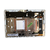 For Asus ME102A K00F MCF 101 0990 01 FPC V4.0 V3.0 V2.0 LCD LED Touch Screen Digitizer Assembly with WHITE FRAME