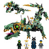 31072 Ninjagoes 592pcs Movie Series Flying Mecha Dragon Building Blocks Bricks Baby Toys Children Gift Model