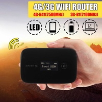 LEORY 4G Lte Pocket WiFi Router Car Mobile Wifi Hotspot Wireless Modem Router 4G With Sim Card Slot