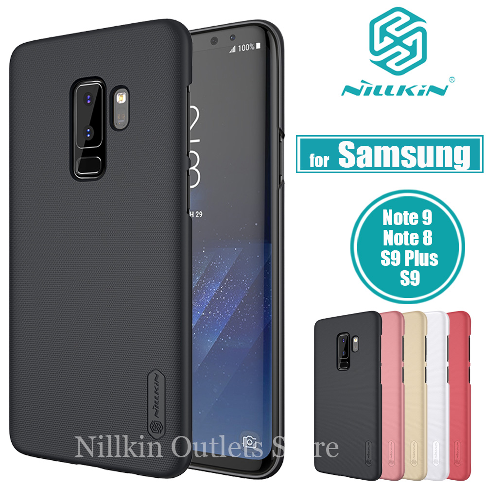 Nilkin for Samsung Note 10 9 8 S10 S9 S8 Plus S10E Case Nillkin Frosted Shield