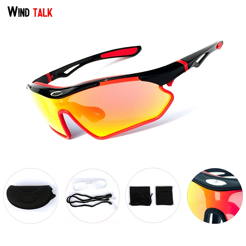 Wind Talk Summer Outdoor Hiking Cycling Glasses Sport Men UV 400 Running Windproof Bike Glasses Women Unisex For Cycle