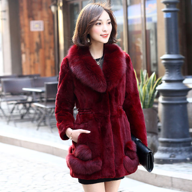 Aliexpress.com : Buy 2015 natural fur women winter jackets and ...