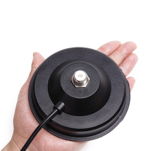 Big Magnetic Mount Base 12CM with 5M Extension Coaxial Cable for Baofeng TYT QYT KT 7900D Baojie BJ 218 Mobile Radio Antenna