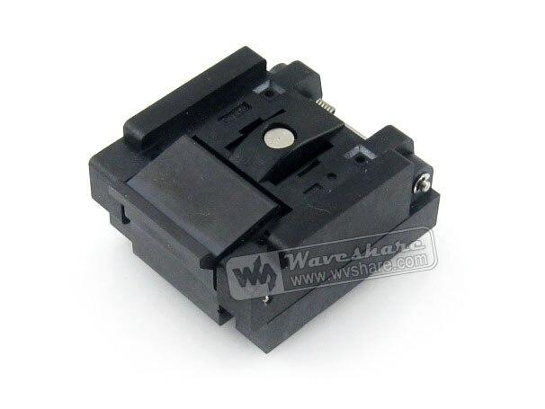 Parts QFN16 MLP16 MLF16 QFN-16BT-0.65-01 QFN Enplas 0.65Pitch 4x4mm IC Testing Burn-in Socket Programming Adapter with Ground Pi ncp81101b 81101b 811018 qfn