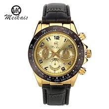 9 colores de lujo de los hombres reloj deportivo reloj de cuarzo moda causal relojes de los hombres correa de cuero de cuarzo relojes mujeres de los hombres vestido de la manera-relojes