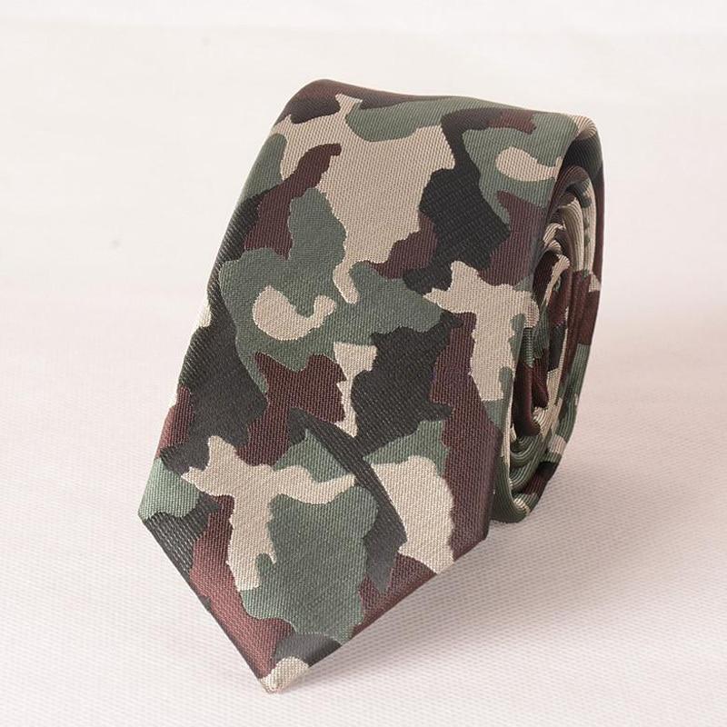 Mens Green Ties 2017 New Designer Fashion Camouflage Tie Necktie Floral Polyester Mannen Stropdassen Army Black Blue Green Ties
