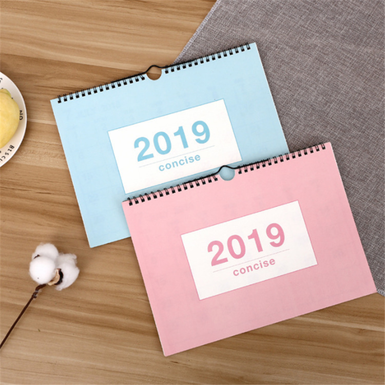 Office & School Supplies Neue 2019 Tisch Kalender Frische Einfache Reine Farbe Schreibtisch Stehend Kalender Organizer Schedule Planer Schreibtisch Kalender Büro Liefern Hindernis Entfernen