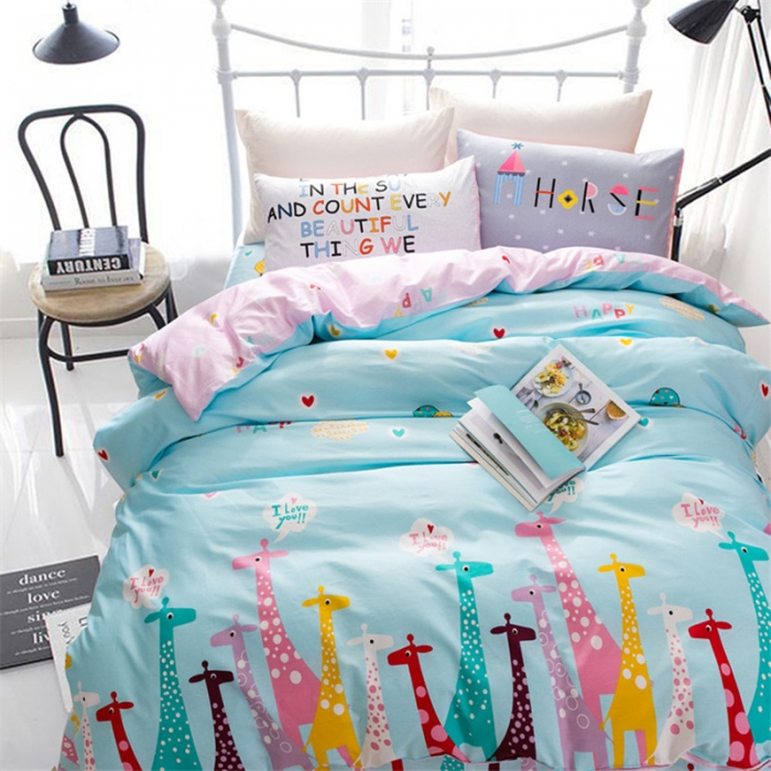 New 100 Cotton Soft Duvet Cover Modern Decoration Bedroom Nordic Style Queen King Size 220x240cm Quilt