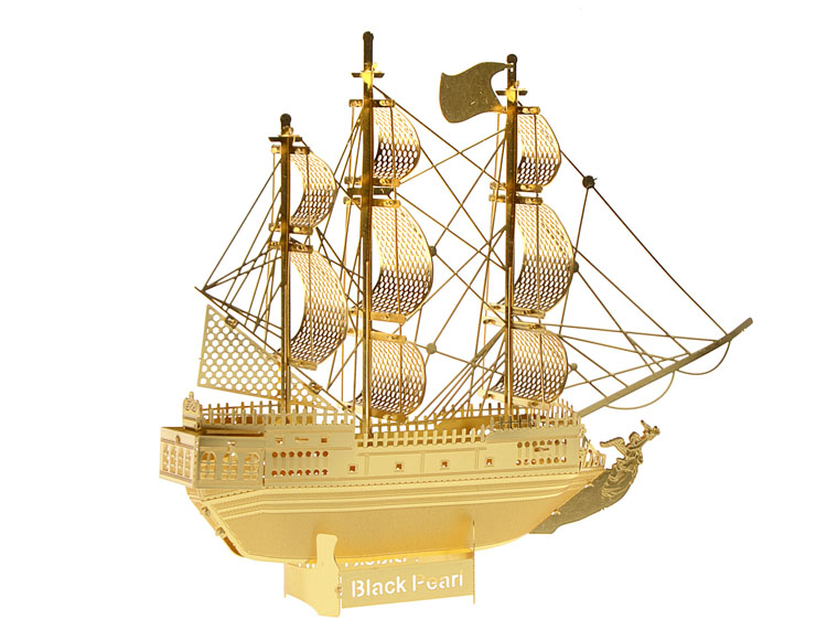 3D головоломки для детей 2016 Новый звездные войны Building архитектура Золотой цвет 3D Нано металла DIY модель образования малыша