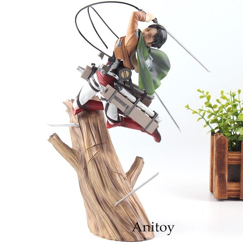 Toys & Hobbies Attack On Titan Levi Figure Pvc Action Figure Collection Model Toys Doll 17cm Shingeki No Kyojin Figure Collectible Toys