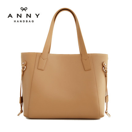 ФОТО Anny 2015 women's cowhide leather single shoulder bag Large shopping bag fashion female bags handbag