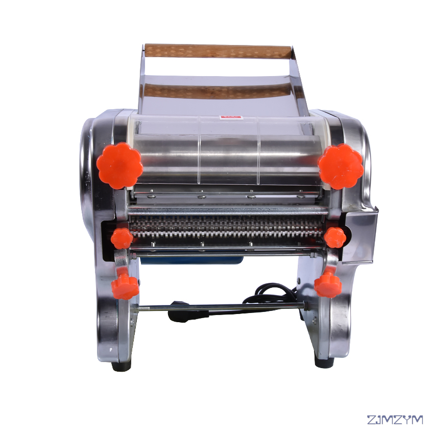 DHH240 Stainless steel household electric pasta pressing machine Ganmian mechanism commercial Electric Noodle Makers 24cm width automatic pasta machine household pasta machines electric noodle pressure machine noodle maker