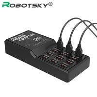 Multi USB Charger US EU UK AU Plug 12 Ports Wall Desktop Charge Power Adapter For