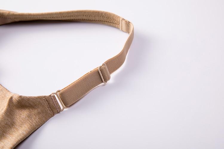 Женский бесшовный бюстгальтер на косточках без подкладки размера плюс