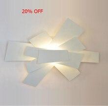 "(Width: 57cm/22.4"") Lamp Designe Foscarini Big Bang Wall Lamp White Sconces Wall Light Led E27 Ceiling Lamp EMS Fast Shipping"